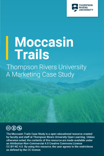 Cover image for Moccasin Trails